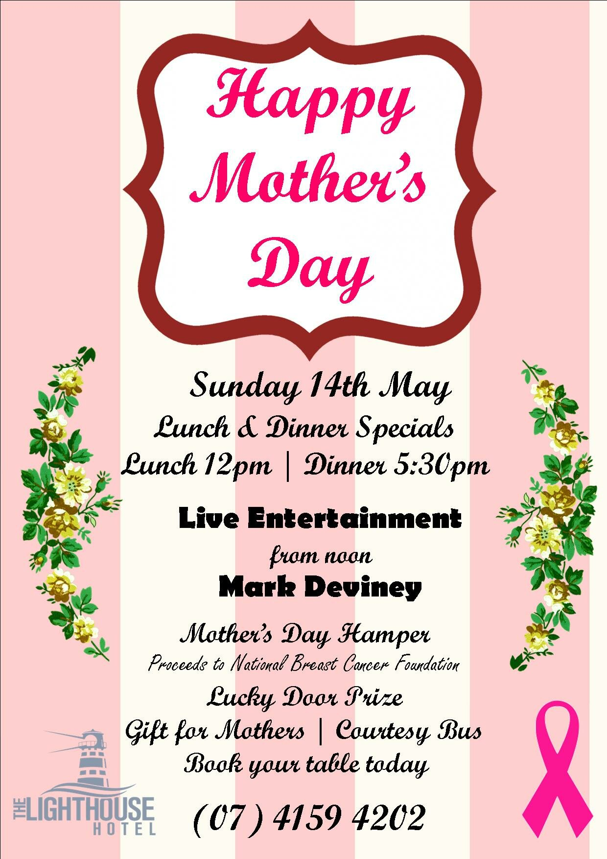 Mother's Day Lunch & Dinner Special | Bundaberg Region Events